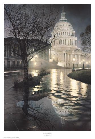 Liberty's Light Art Print
