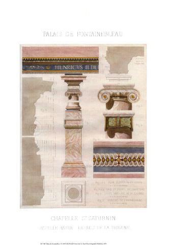 Palais de Fontainbleu I Art Print