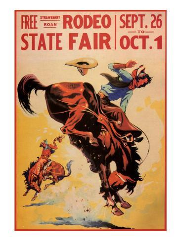 Rodeo State Fair, c.1940 Giclee Print