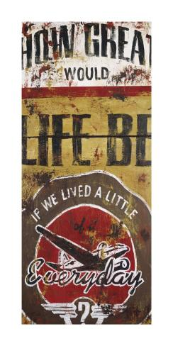 Life Be Art Print