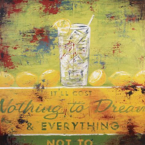 Nothing To Dream Pingotettu canvasvedos