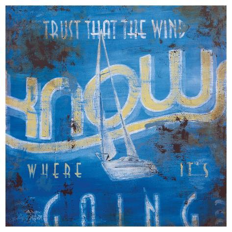 Wind Knows Giclee Print