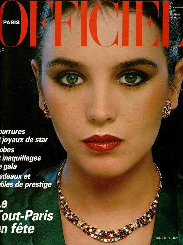 L'Officiel, December 1979 - Isabelle Adjani Taidevedos
