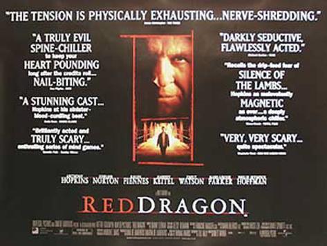 Röd drake Originalposter