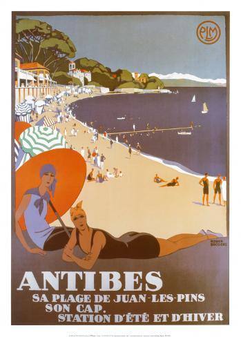 Antibes Art Print