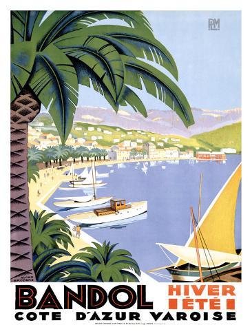 Bandol Giclee Print
