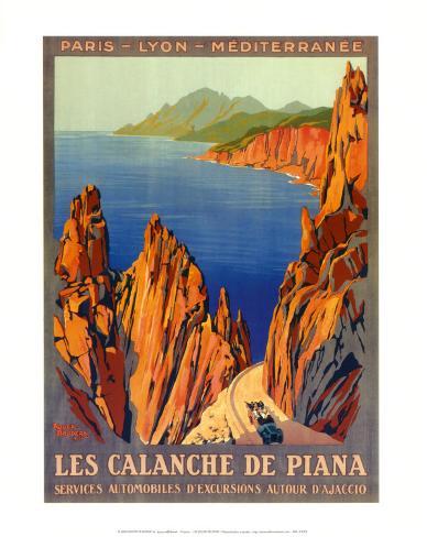 Calanche De Piana Art Print