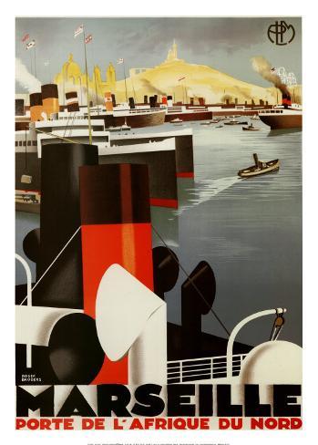Marseille Art Print