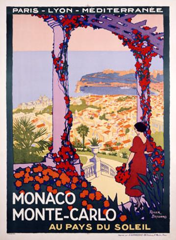 Monaco, Monte-Carlo Giclee Print