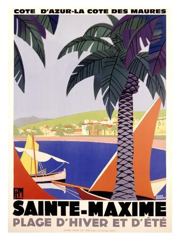 Sainte-Maxime Giclee Print