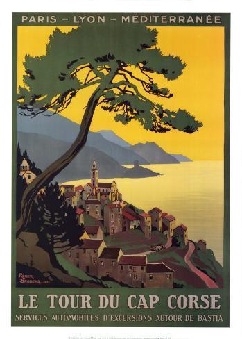 Tour Du Cap Corse Art Print