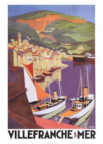 Villefranche Art Print