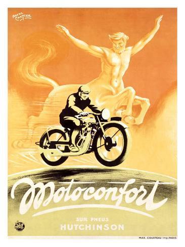 Motoconfort Giclee Print