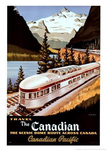 Canadian Pacific Train Taidevedos