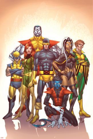 Uncanny X-Men: First Class No.1 Cover: Cyclops Poster