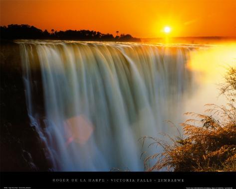 Victoria Falls - Zimbabwe Art Print