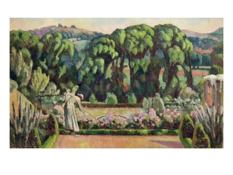 The Artist's Garden at Durbins, c.1915 Lámina giclée