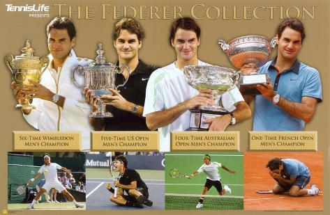 Roger Federer Tennis Sports Poster Poster