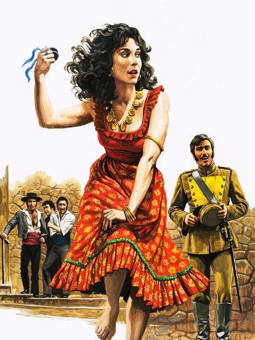 Bizet's Carmen Giclee Print