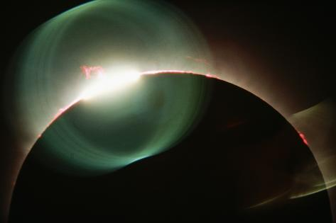 End of Totality Photographic Print
