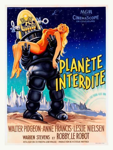 Planete Interdite Impressão giclée