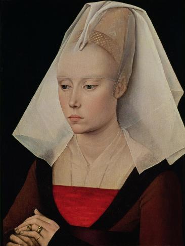 Portrait of a Lady, circa 1450-60 Giclee Print