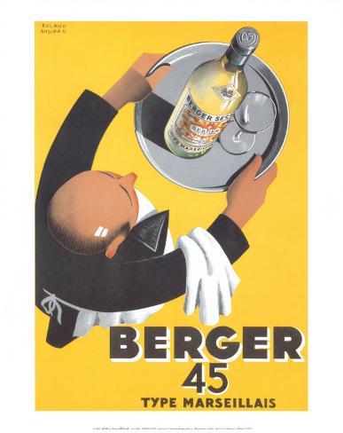 Berger 45 Art Print