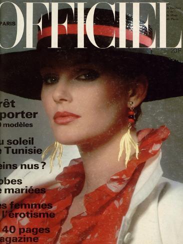 L'Officiel, April 1978 - Yves Saint Laurent Taidevedos