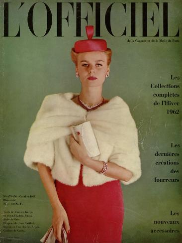 L'Officiel, October 1961 Taidevedos