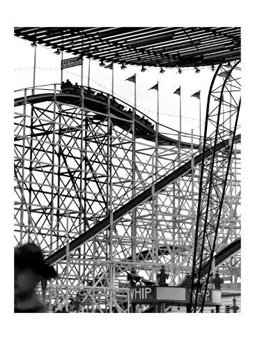 Roller Coaster Giclee Print