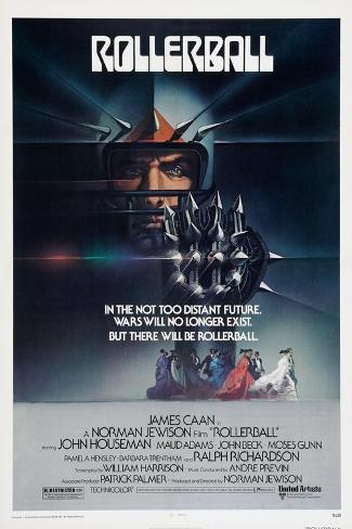 Rollerball, poster, 1975 Premium Giclee Print