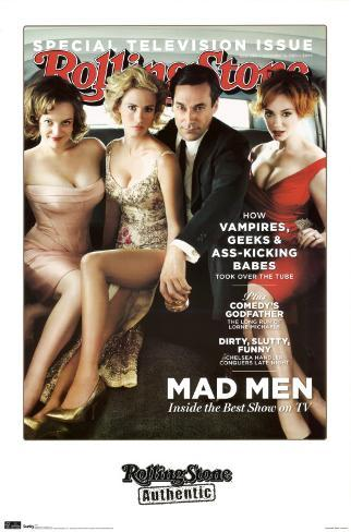 Rolling Stone, 2010 - Mad Men Poster