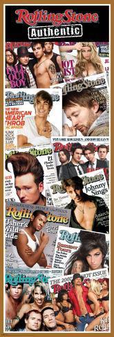 Rolling Stone - Covers Door Poster