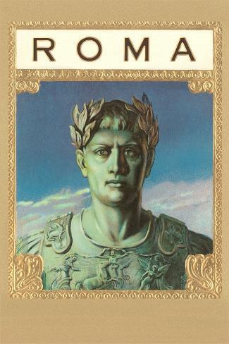 Roma, Caesar Statue Stampa artistica