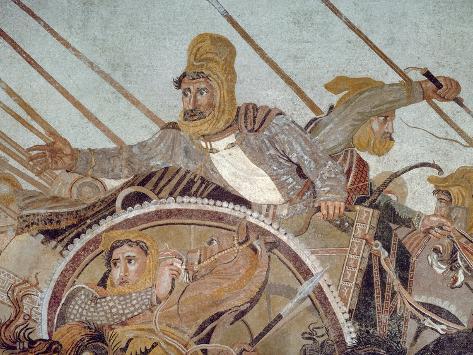 Darius Iii, from 'The Alexander Mosaic' Giclee Print