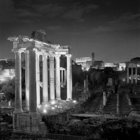 Roman Forum Photographic Print