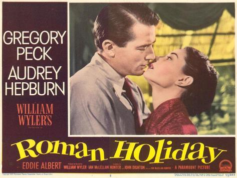 Roman Holiday, 1953 Exklusivt gicléetryck