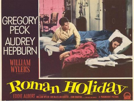 Roman Holiday, 1953 Art Print
