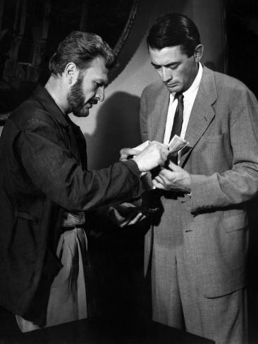 Roman Holiday, Eddie Albert, Gregory Peck, 1953 写真