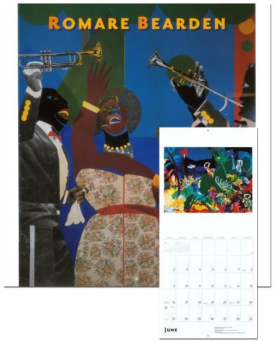 Romare Bearden - 2013 Wall Calendar Calendars