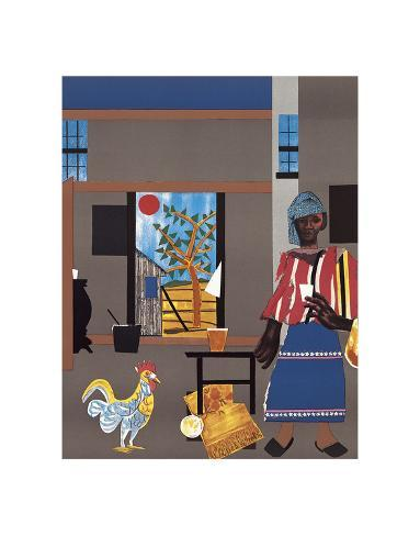 Morning of the Rooster, c.1980 Art Print
