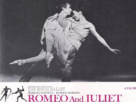 Romeo and Juliet, 1966 Art Print