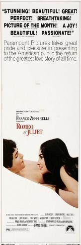 Romeo and Juliet, 1966 Art Print