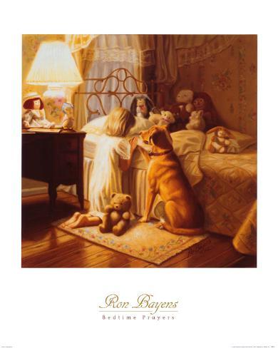 Bedtime Prayers Art Print