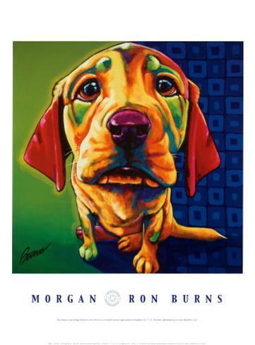Morgan Framed Art Print