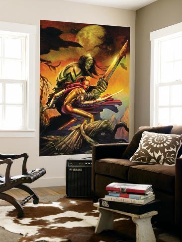 Skaar: Son Of Hulk Cover: Skaar and Omaka Outro