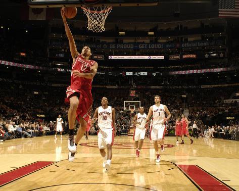 Houston Rockets v Toronto Raptors: Kevin Martin and DeMar DeRozan Photo