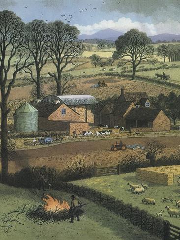 Farm Giclee Print