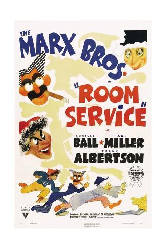 Room Service, 1938 Gicléetryck