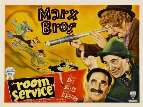 Room Service, 1938 Art Print